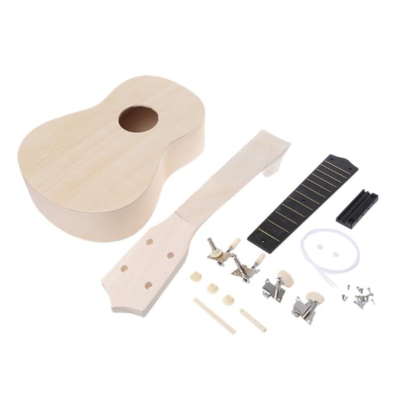 21 Ukulele Soprano Wooden Musical Instrument Hawaiian Guitar Ukulele DIY Kit product details oscar schmidt ou5 concert ukulele forum novelties 16 hawaiian guitar musical instrument