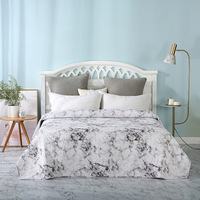 New Marble leave Bedding Summer Quilt Blankets Soft Comforter Bed Cover Quilting Suitable for Adults Kids Bedspread Home Textile