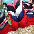 Специальное предложение высокое качество Собрать регулируемый Залп push up bra top bralette бюстгальтеры для женщин soutien ущелье