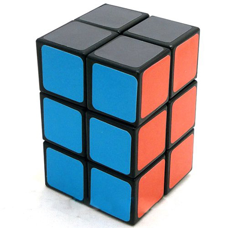 Speed Magic Cube 2x2x3 Black Educational Speed Puzzle Toys for Children Hot Selling Twisty Puzzle New