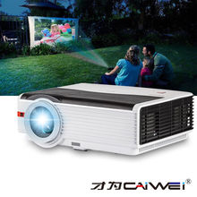 CAIWEI светодиодный домашнего кинотеатра ЖК-дисплей проектор 1080 P Full HD поддерживается Кино Видео Мультимедиа 10 Вт сабвуфера звук HDMI ТВ USB AV VGA