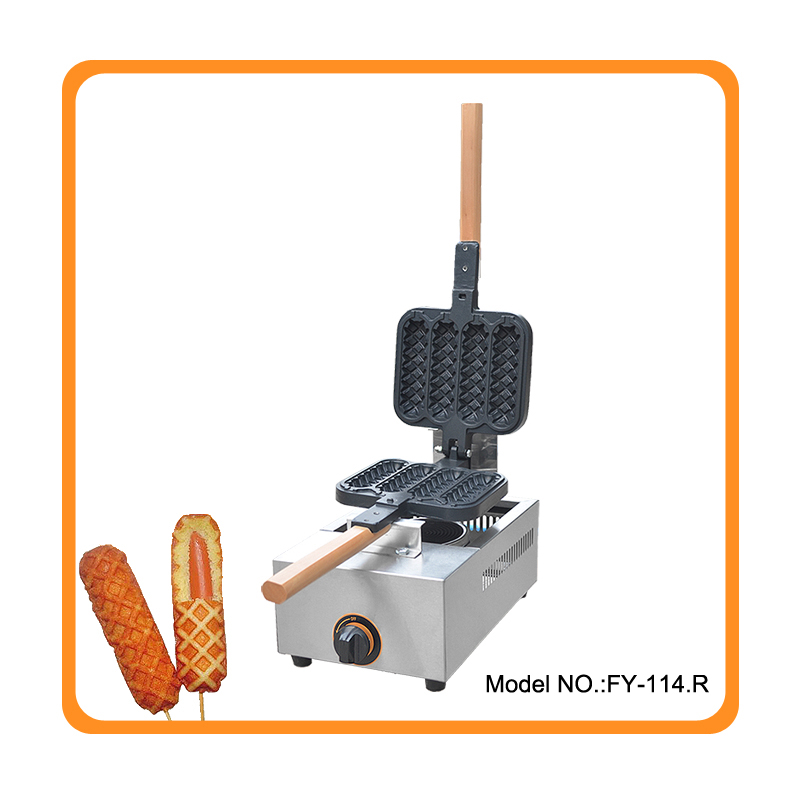 Free shipping New Arrival Waffle Hot Dog Maker Gas Waffle Stick Maker lolly waffle machine grill
