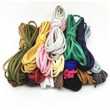 Suede Cord 2.7mm Multi-colors Flat Faux Suede Cord Lace Leather Cord Flat DIY Rope for Bracelet Bags Fringe Making Accessories(China)