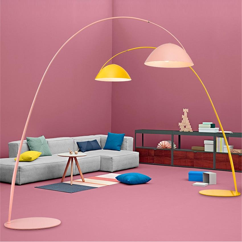 Italienischen designer LOFT LED Boden lichter leuchte led lampen tinte stift moderne wohnzimmer ausstellung halle angeln boden lampe - 6