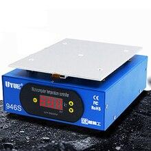 220V/110V Heating Platform LCD Separator Hot Plate Soldering Preheat 9.6 inch Digital Pre-heater Station Solder 946 S Machine