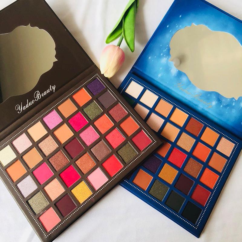 ZHENDUO  35 Colors Creation Shimmer Matte Glitter EyeShadow Makeup Palette long lasting beauty Eye shadow