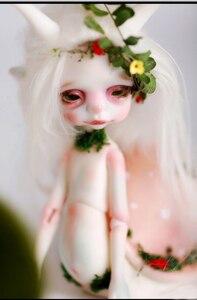 Image 4 - HeHeBJD 1/8 Larry fantasy doll hot bjd free shipping free eyes