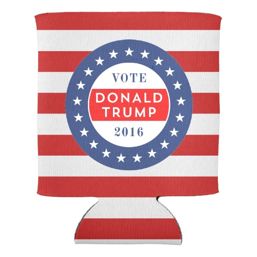 Donald Trump 2016 Can Cooler Popular Home Supplies Beer Holders Birthday Party Accessories Beverage Drink Couple Insulator In Wine Coolers Chillers