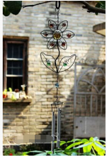 Free shipping,Home&Garden gardening store.wind chimes.ZAKKA grocery retro old wrought iron decorative ornaments Charm Campanula