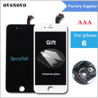 3pcs Lot LCD For IPhone 6 6G LCD Screen Display 4 7 Full Screen With Touch