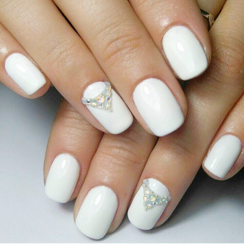 Perfect Summer Nail Gel Polish French Manicure DIY Nail Art Gel 6.5 ...