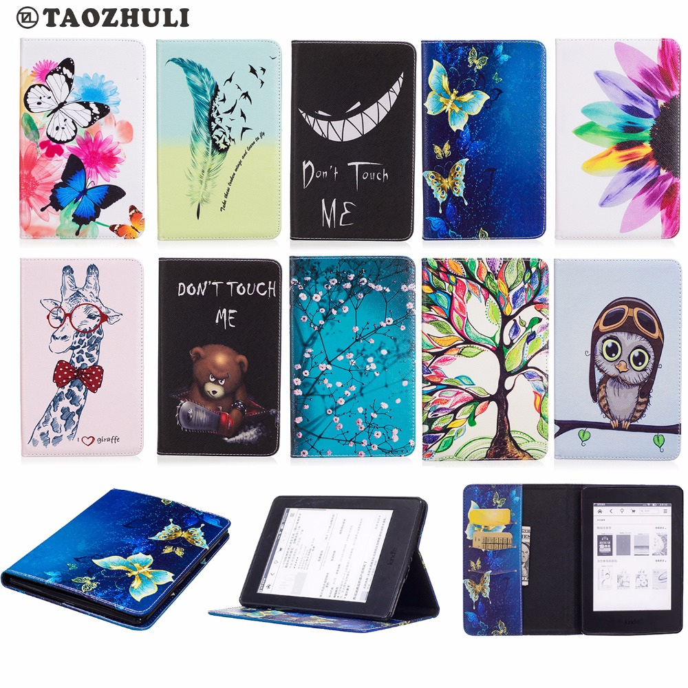 Fashion PU Leather Magnetic Flip Case For Amazon Kindle Paperwhite123 Paperwhite 2015 6.0 inch E-reader Protector Cover детский жакет tong si