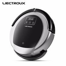 LIECTROUX Robotique Aspirateur B6009, 2D Carte & Gyroscope Navigation, avec Mémoire, Faible Répétition, Virtuel Bloqueur, Lampe UV, Vadrouille Humide