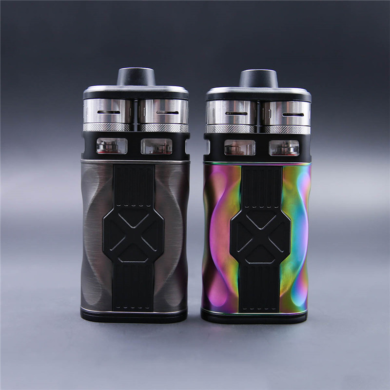 100% Original Teslacigs Tesla CP COUPLES 220W Electronic Cigarette Kit with CP COUPLES box mod and Dual CP Couples RDTA Tanks