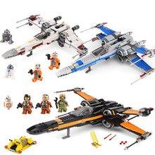 2018 nouveau X Wing Star Fighter blocs de construction compatibles Legoinglys Star Plan Wars chiffres construire des jouets éducatifs pour les enfants