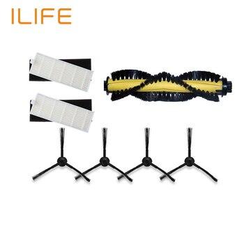 1 main brush 2 hepa filter 2 sponge 4 side brushes for ilife a4 robot vacuum.jpg 350x350