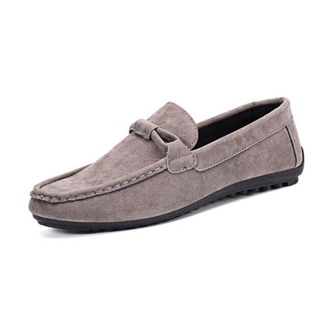 גברים קיץ סגנון רך נעליים יומיומיות מוקסינים גברים נעלי עור אמיתי באיכות גבוהה נעלי גברים דירות Gommino נהיגה נעליים