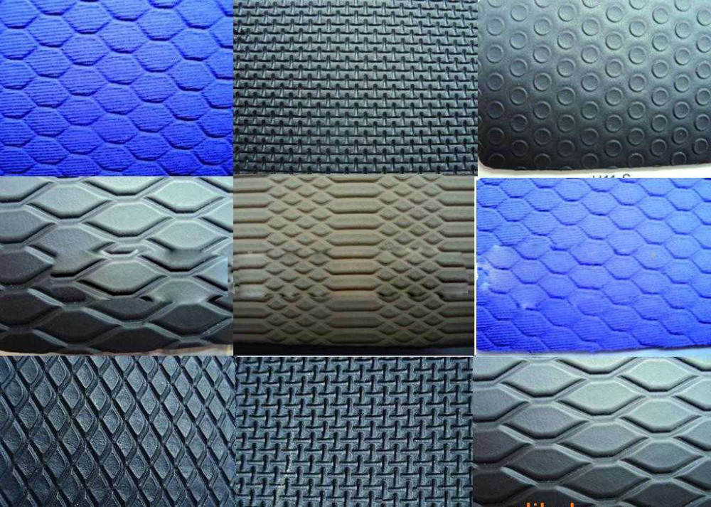 Coated Fabric Neoprene Perforated Rubber Neoprene Embossed