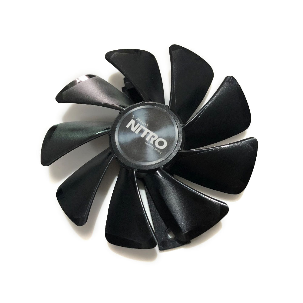 FDC10U12S9-C CF1015H12D RX 580/570/480 GPU VGA Graphics Cooler Fan For Sapphire NITRO RX580 RX480 Video Card Cooling Replacement