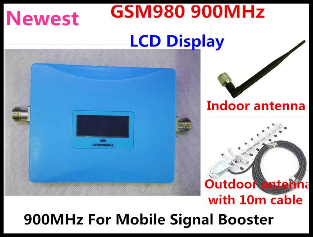 Date GSM 980 répéteur 2G GSM 900 Mhz amplificateur de Signal de téléphone portable GSM 900 Mhz répétiteur antenne amplificateur de Signal cellulaire