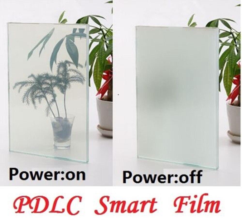 Sunice 30.48cmx15.24cm Protect Privacy Magic Switchable Film Building Automobile Window Tint Magic Electric Smart Film