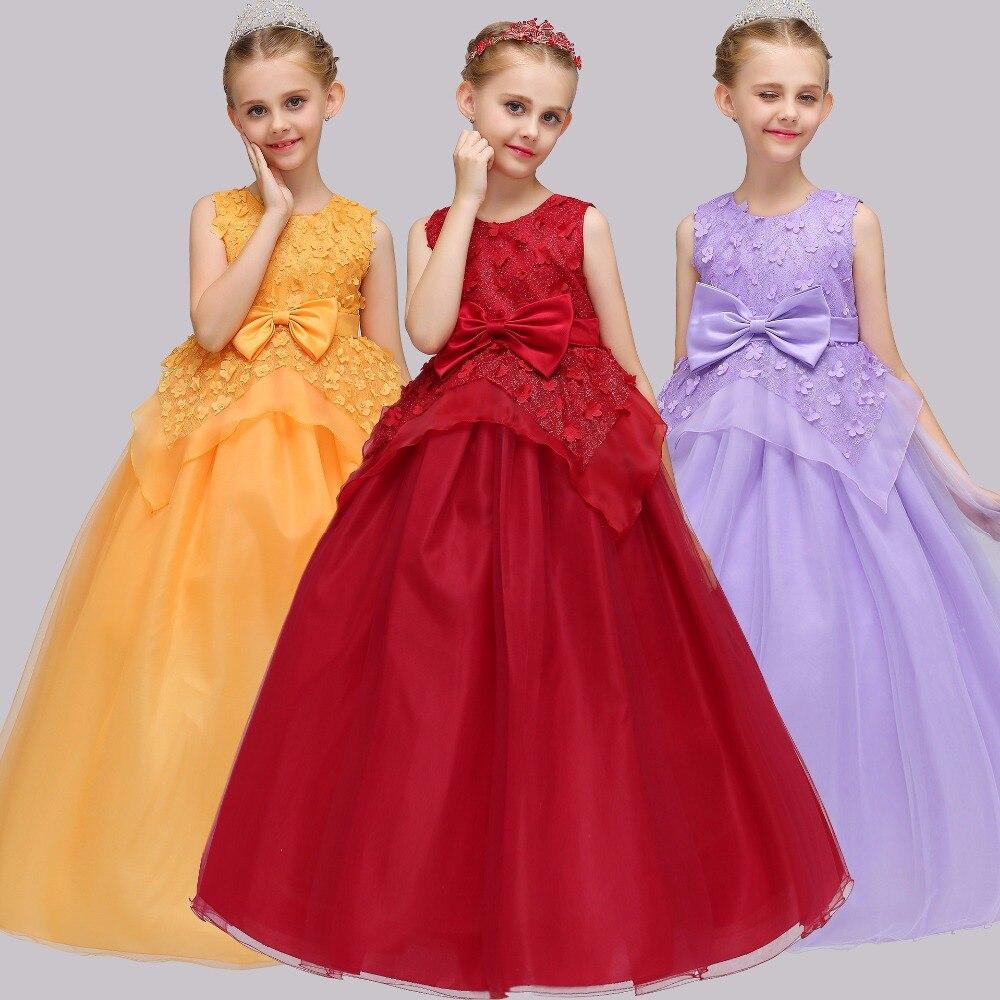Cheap A-Line Sleevless Lace Candy   Flower     Girls     Dresses   First Communion   Dress   For Evening