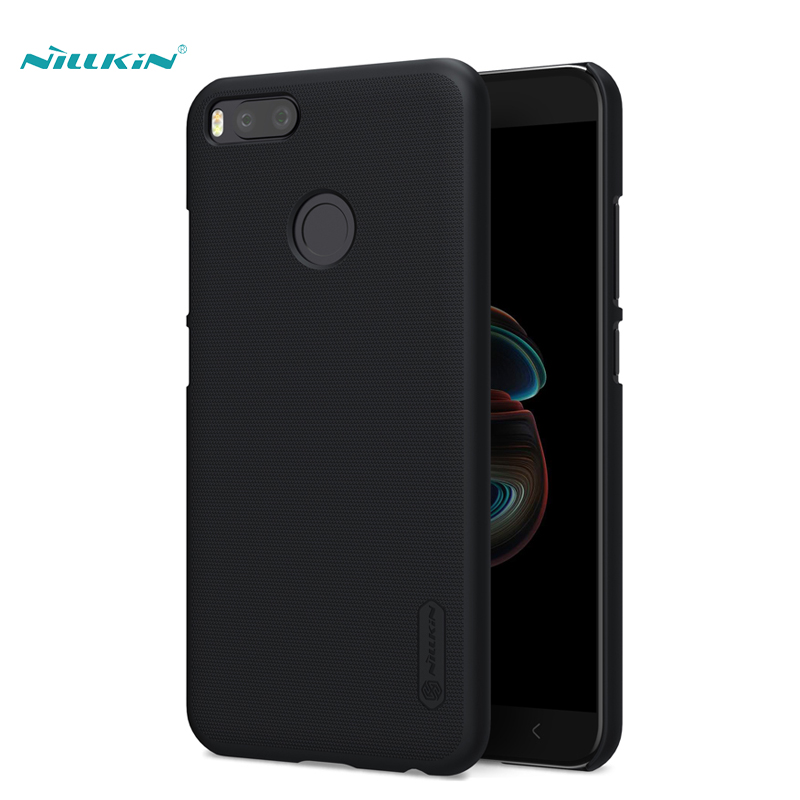Case For Xiaomi 5x Case Cover 5 5 Inch NILLKIN Frosted PC Plastic Hard Back Cover