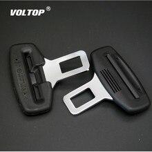 1 pcs Car Seat เข็มขัดคลิปหมอน Extender เข็มขัดนิรภัยฝาครอบหัวเข็มขัดปลั๊ก Socket Black Extension Universal Auto Accessories