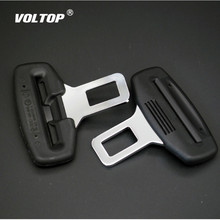 1pcs Car Seat Belt Clip Pillow Extender Safety Seatbelt Cover Buckle Plug Socket Black Extension Universal Auto Accessories