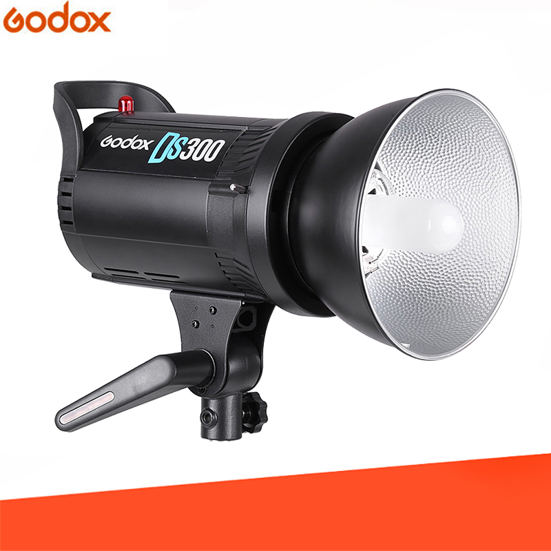 <font><b>Godox</b></font> DS300 <font><b>300</b></font> W Compact Studio Photography pro Stroboscope Flash Cap Lamp 220 V 110 V image