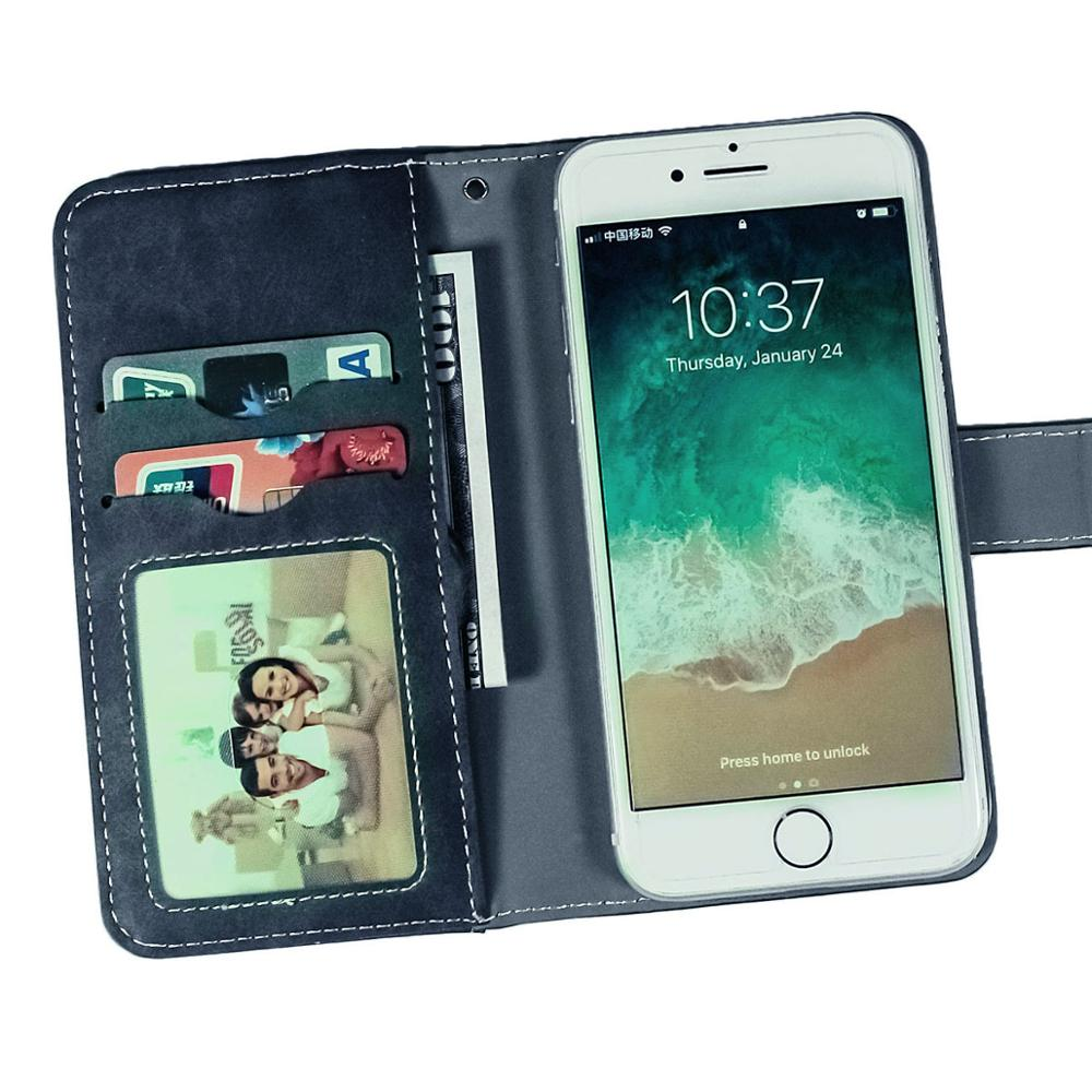 Vintage Leather Wallet Oukitel K12 6 3 quot Case Flip Luxury Card Slots Cover Magnet Stand Phone Protective Bags in Wallet Cases from Cellphones amp Telecommunications