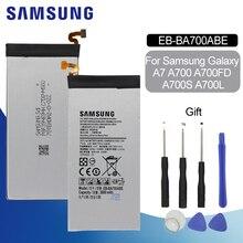 Original Battery For SAMSUNG A700 EB-BA700ABE 2600mAh For Samsung Galaxy A7 2015 A700L SM-A700FD A700S Replacement Phone Battery стоимость