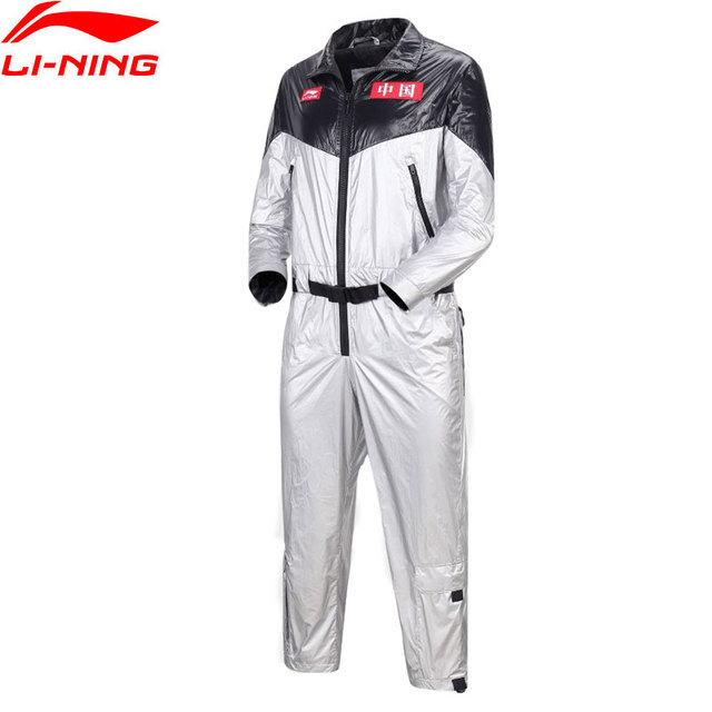 Li-Ning PFW Men The Trend Jumpsuit CHINA LINING Regular Fit 100%Nylon Pockets LiNing Sports Pants AABN001 MKX1392