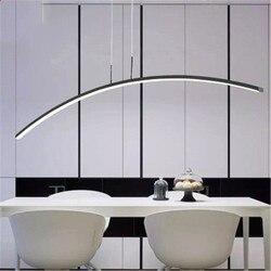 Nordic Restaurant Kroonluchter Minimalistische Eettafel Lamp Led Lamp Persoonlijkheid Creatieve Parlor Bar Hanglamp