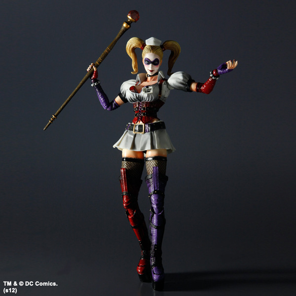 ФОТО Suicide Squad Action Figure Harley Quinn Play Arts Kai 12inch PVC Anime Movie Suicide Squad Collectible Model Toy Harley Quinn