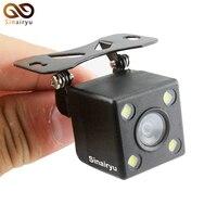 Sinairyu Waterproof HD CCD Sensor 170 Degree 4 LED Lamp Night Vision Car Parking Rear View