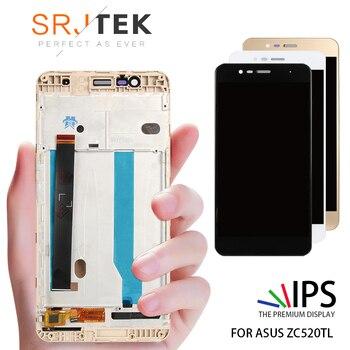 Orijinal 5.2 ''1920x1080 Ekran Asus Zenfone 3 Max Için ZC520TL Çerçeve ile LCD Dokunmatik Ekran Digitizer Meclisi x008D