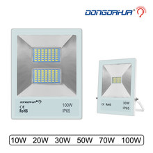 10W 20W 30W 50W 70W 100W light to flood light outdoor led the projector ip65 waterproof garden lamp project light reflector(China)