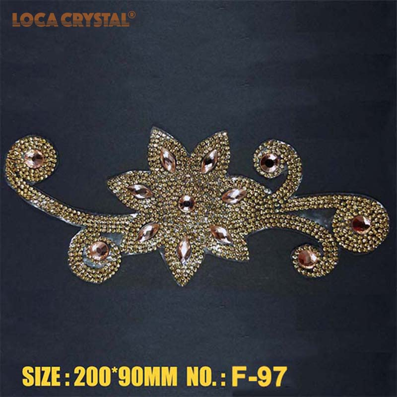 Detail Feedback Questions about Hot Fix Flower Shape Crystal Rhinestone  Applique for Clothes Decoration Pointback rhinestone Beads Patch LOCACRYSTAL  on ... f2e186a98537