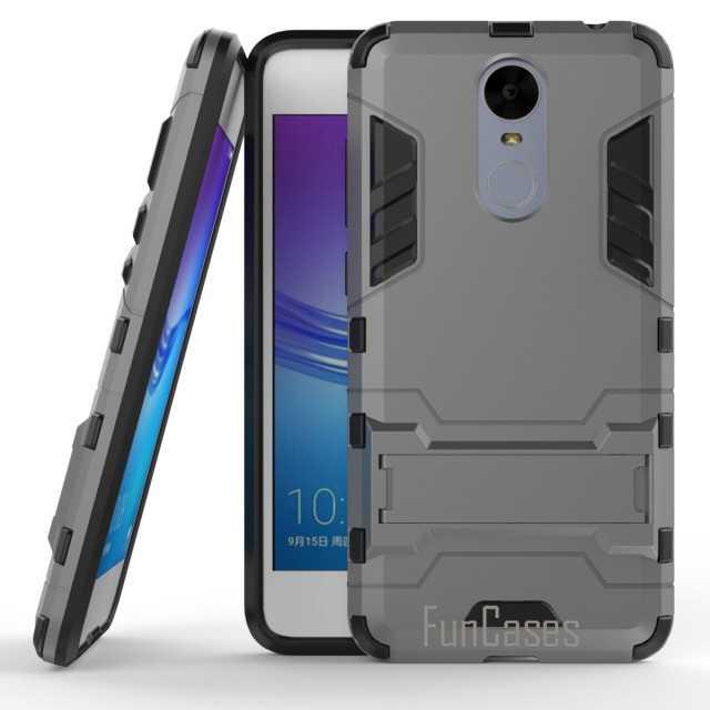 Per Huawei Godere 6 NCE-AL00 Pc + Silicone a Doppio Strato Anti-Shock Iron Man Armatura Scudo 3D per Il Caso di Huawei enjoy6 Del Basamento Della Copertura Posteriore