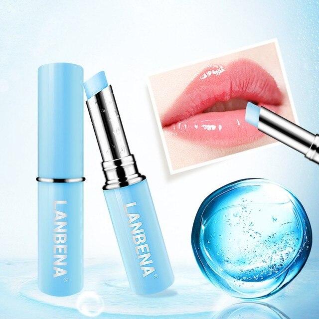 Ácido Hialurónico labio BalmMoisturizing reducir las líneas de los labios aliviar la sequedad y protección duradera cuidado de los labios