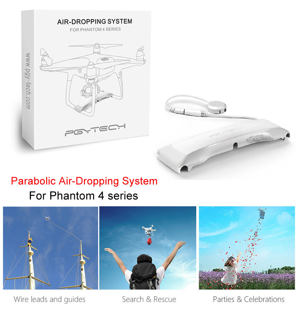 Air Dropping system Fishing Bait Wedding Thrower For DJI Phantom 4 4P 4A Drone