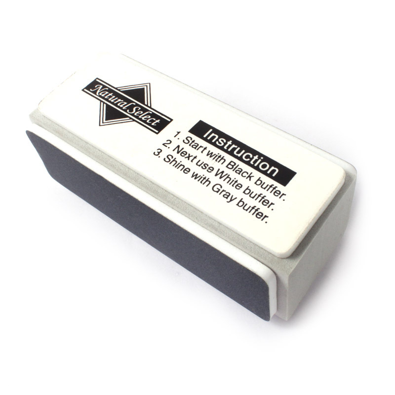 New 3 Ways Nail Buffer Block Shining Buffer Buffing Glock For Nail Art Manicure