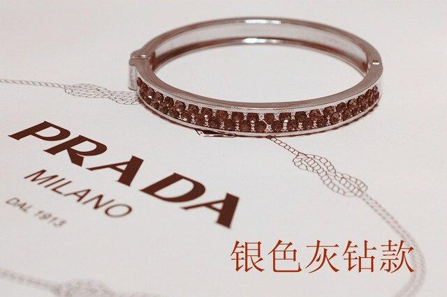10pcs/ lot new Arrivals 4 color luxury glitz cuff bracelet bangle with crystal