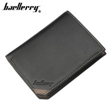 Men wallet Top 2018 Vintage fashion Leather Brand Luxury Short Slim Male Purses Money Clip Credit Card Dollar Price 082