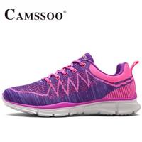CAMSSOO Mujeres Flyknitlys Deportes Running Shoes Sneakers Para la Mujer Zapatillas Deportivas Mujer Correr Jogging Zapatos de Mujer