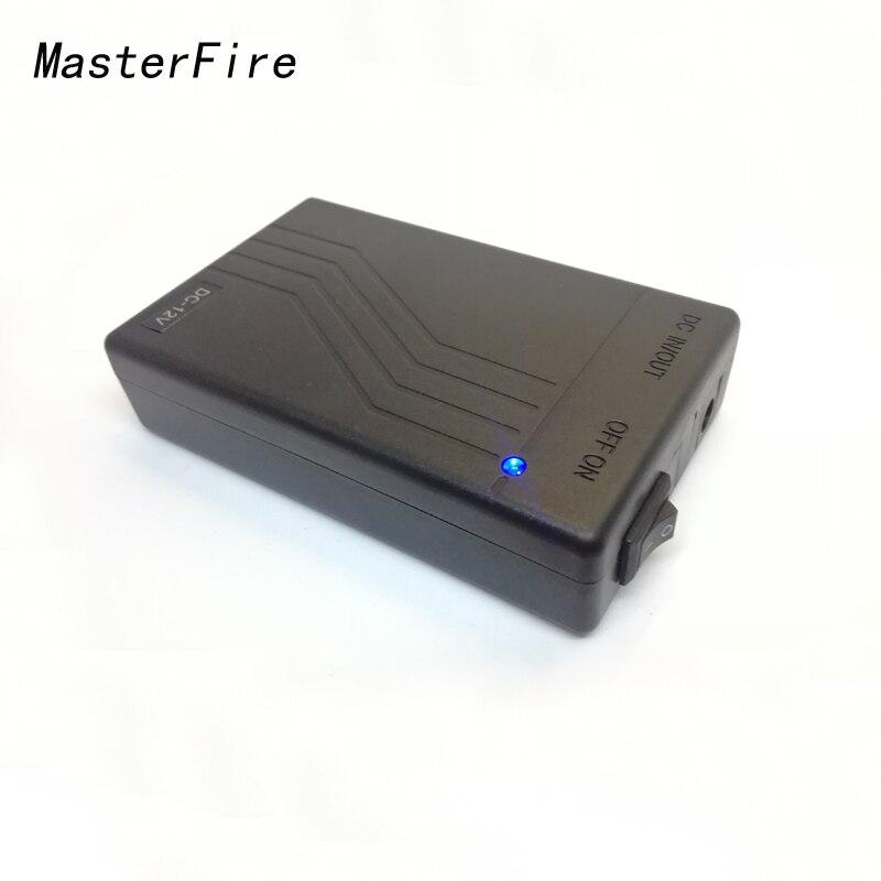 MasterFire 10 pacote/lote YSN-12480 Portátil DC 12V Pacote de Baterias de 4800mah Bateria Recarregável Li-ion De Lítio para câmera de CFTV