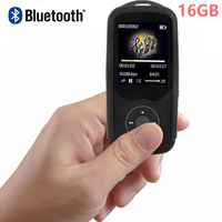 RUIZU X06 Bluetooth Sport MP3 Player 8GB With 1 8Inch Screen Can Play 100hours High Quality