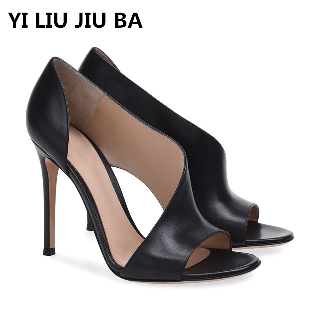 high quality new summer Shoes Women High Heels New Pumps Sexy Ladies Sandals Fashion shallow **664