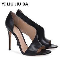 цена на high quality new summer Shoes Women High Heels New Women Pumps Sexy Ladies Shoes Women Sandals Fashion shallow Women Shoes **664